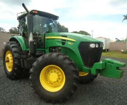 John Deere 7185J, 7195J, 7205J, 7210J, 7225J (Worldwide) Tractors Service Repair Manual (TM802119)