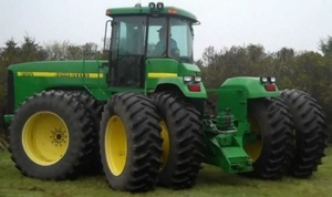 John Deere 9100, 9200, 9300, 9400 4WD Tractors Diagnosis and Tests Service Manual (tm1624)