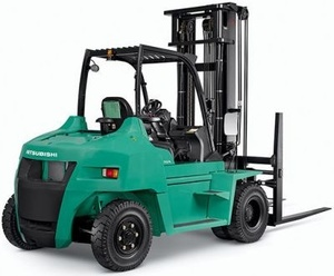 Mitsubishi Diesel Forklift Truck  FD70N (AF20D-10011-up) Operating and Maintenance Instructions