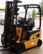 Caterpillar Electric Forklift Truck EP16N, EP18N, EP20CN Workshop Service Manual
