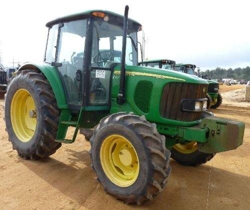 John Deere 6415 and 6615 South America Tractors Service Repair Manual (tm8130)