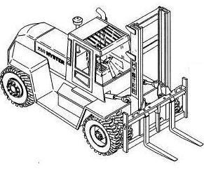 Hyster Forklift D019 Series:  H300XL, H330XL, H360XL, H330XL-EC, H360XL-EC Spare Parts Manual