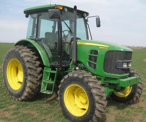John Deere 6100D, 6110D, 6115D, 6125D, 6130D & 6140D Tractors Service Repair Manual (TM605019)