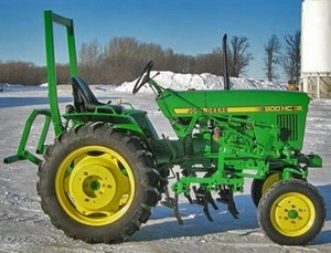 John Deere Tractor Lawn & Grounds Care Division Tractor 1050, 850, 900HC, 950 Service Manual