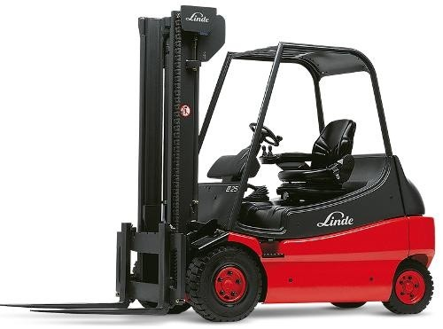 Linde Electric Forklift Truck E336-02 EX Series: E20, E25, E30 Operating Instructions (User Manual)