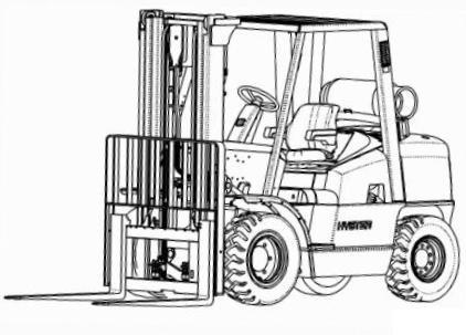 hyster forklift l005 series h70xm h80xm h90xm h100 rh sellfy com Hyster H80E hyster h100xm manual