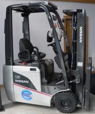 Nissan Electric Lift Truck A1N1L15/18, AS1N1L13/15, G1N1L16/18/20, JAG1N1L16/18/20 Service Manual
