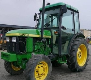 John Deere 5400N and 5500N Tractors All Inclusive Technical Service Manual (tm1585)
