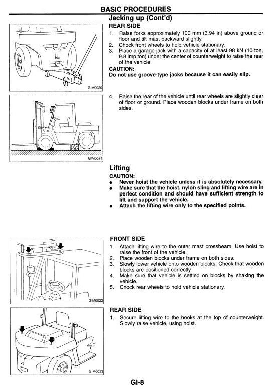 nissan forklift df05a 50 60 70 mf05a 50 60 uf05a rh sellfy com Nissan Forklift Shop Manual nissan 60 forklift owners manual