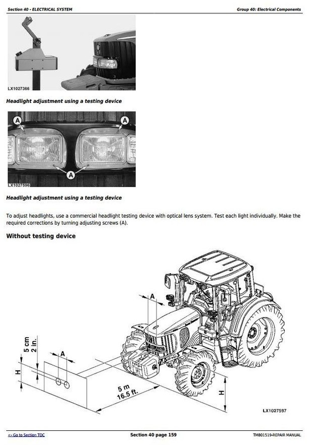 John Deere 6145J, 6165J, 6180J & 6205J (Worldwide Edition) Tractors Service Repair Manual (TM801519)