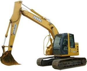 John Deere 135C RTS Excavator Diagnostic, Operation and Test Service Manual (TM2093)