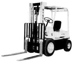 Hyster Diesel/LPG Forklift Truck E003 Series: H30H, H40H, H50H, H60H Spare Parts List (EPC)