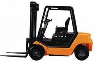 Still Diesel Fork Truck R70-20, R70-25, R70-30 with MB motor: R7032, R7033, R7034 Parts Manual