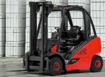 Linde Diesel Forklift Truck 392-02 Series: H20D, H25T Operating Instructions (User manual)