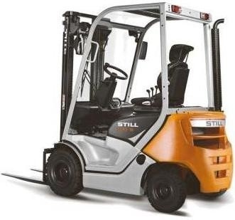 Still Diesel Forklift Truck Type RC40-16, RC40-18, RC40-20: 4021, 4022, 4023 Spare Parts Manual