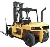 Caterpillar Diesel Forklift Truck DP60 (8CP1-UP), DP70 (9CP1-UP) Workshop Service Manual