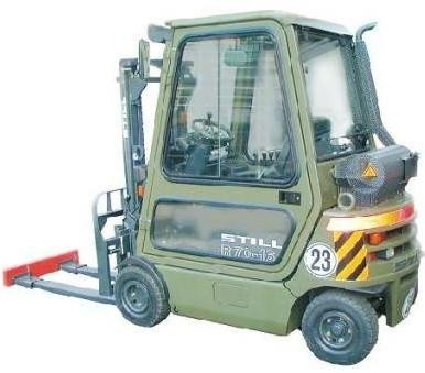 Still Diesel Fork Truck Type R70-16 Military: R7074 BW Parts Manual
