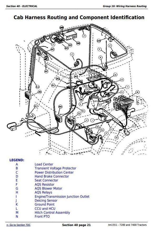 7200 And 7400 2wd Or Mfwd Tractors Service Repair Manu. 7200 And 7400 2wd Or Mfwd Tractors Service Repair Manual Tm1551. John Deere. John Deere 7200 Tractor Pto Diagram At Scoala.co