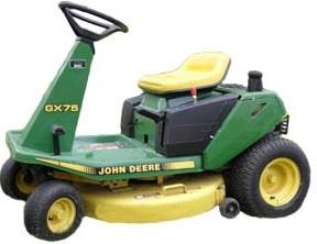 john deere riding mowers gx70 gx75 gx85 gx95 srx7 rh sellfy com john deere gx85 wiring schematic