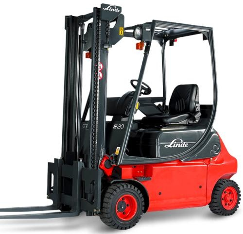 linde electric forklift truck e series type 335 02 e1 rh sellfy com linde e20 forklift manual