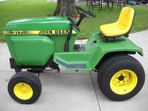 John Deere Hydrostatic Tractor Type 317 Technical Service Manual