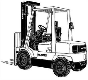 Hyster Lift Truck D187 Series: S2.00XM, S2.25XM, S2.50XM, S3.00XM, S3.20XML Spare Parts List