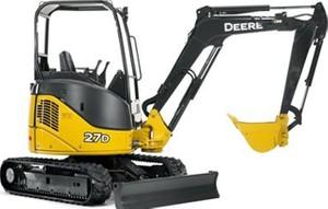 John Deere 27D Compact Excavator Service Repair Technical Manual (TM2356)