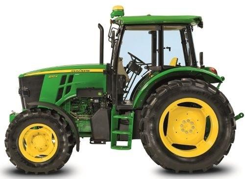 John Deere 6100B and 6110B 2WD or MFWD - China Tractors Service Repair Manual (TM700019)