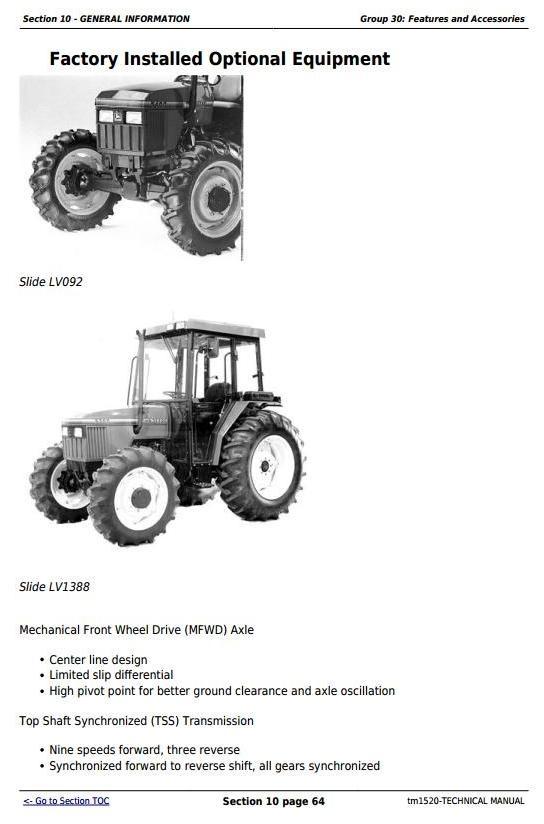 john deere 5200 5300 5400 and 5500 tractors diagnost rh sellfy com John Deere L111 Service Manual John Deere L111 Service Manual