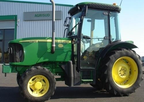 John Deere 5215F/V, 5315F/V, 5515F/V, 5615F/V Tractors Diagnostics and Tests Service Manual (tm4861)