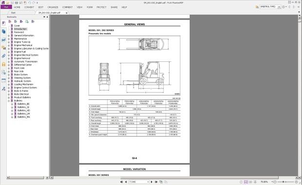 Nissan F/PD01A15(P)U, F/PD01A18(P)U, F/UD02A20(P)U, F/UD02A25(P)U, F/UGD02A30(P)U Service Manual