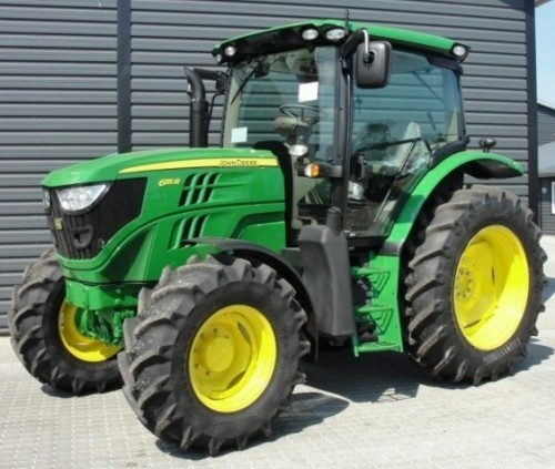 John Deere 6105R, 6115R, 6125R, 6130R  North American Tractors Service Repair Manual (TM404519)