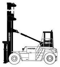 Hyster Truck A214 Series H14.00XM, H15.00XM, H16.00XM, H18.00XM, H20.00XM Spare Parts List
