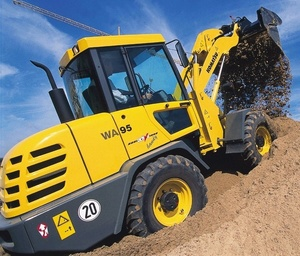 Komatsu Wheel Loader WA95-3 sn: HA980376 and up Workshop Service Manual