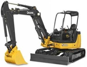 John Deere 35D and 50D Compact Excavator Service Repair Technical Manual (TM2264)