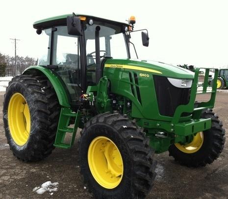 John Deere 6105D, 6115D, 6130D, 6140D Tractors Diagnosis and Tests Service Manual (TM607319)