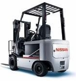 Nissan Electric Forklift 1B1, 1B2 service repair manual