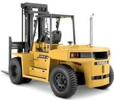 Caterpillar Diesel Forklift Truck: DP80 (T32B-00011-09999), DP90 (T32B-50001-59999) Service Manual