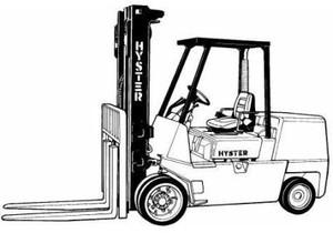 Hyster C024 Series: S6.00XL (S135XL, S135XL2); S7.00XL (S155XL, S155XLS, S155XL2) Service Manual