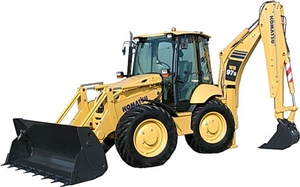 Komatsu Backhoe Loader WB97S-2 sn: 97SF11205 and up Operating and Maintenance Instructions