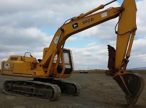 John Deere 490D and 590D Excavator Service Repair Technical Manual (tm1390)