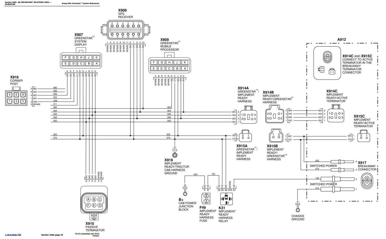 Wiring Diagram For John Deere 9520 Trusted Robertshaw 9420 9120 9220 93209420 9620 Tractors L118