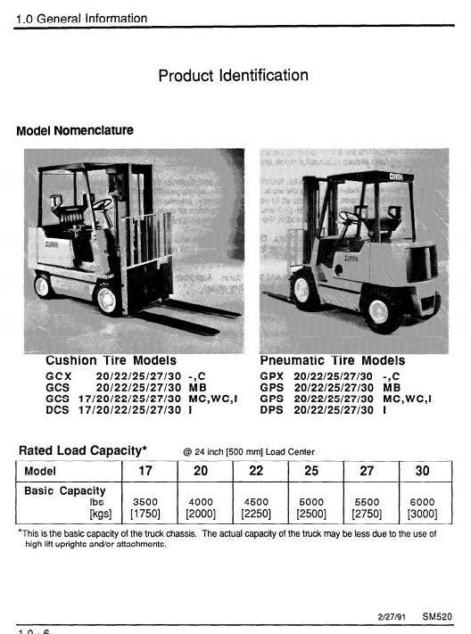 clark forklift truck type gx230 c g138 mb mc wc i rh sellfy com