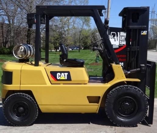 Caterpillar Gasoline and LPG Forklift Truck: GP40, GPL40 Workshop Service Manual