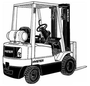 Hyster IC Engined Forklift Truck D010 Series: S25XM, S30XM, S35XM, S40XMS Spare Parts List