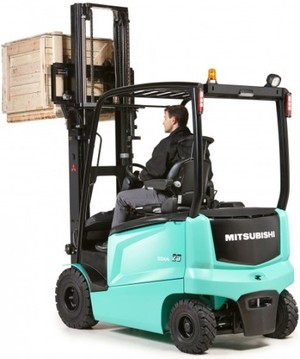 Mitsubishi Electric Forklift Truck FB25CN, FB25N, FB30CN, FB30N, FB35N Operating Instructions