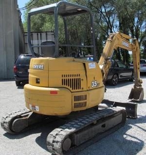 John Deere 35ZTS Compact Excavator Service Repair Technical Manual  (TM1839)