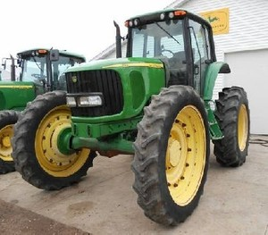 John Deere 7220, 7320, 7420, 7420 Hi-Crop;7520 2-Wheel Drive Tractors Service Repair Manual (TM2070)