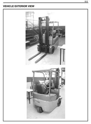 Toyota (BT) Electric Forklift Truck 7FBEST10, 7FBEST12, 7FBEST15 Workshop Service Manual