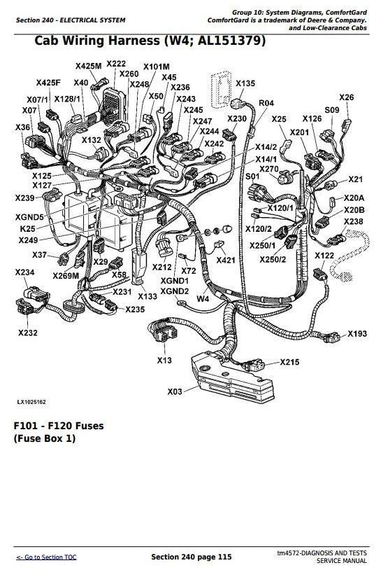 John Deere 6110, 6210, 6310, 6410, 6510 ( , L, S) Tractors Diagnosis, Tests Service Manual (tm4572)